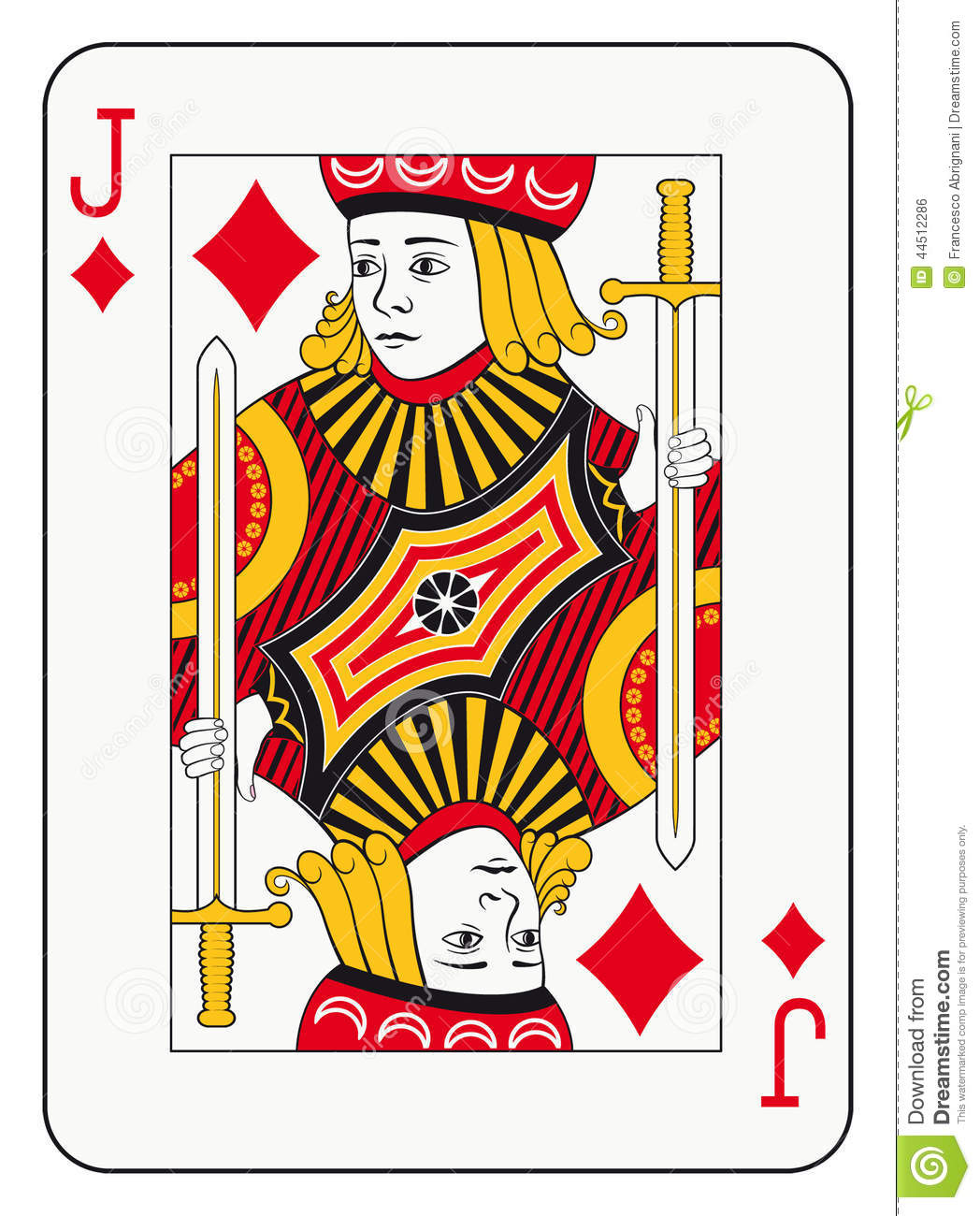 jack of diamonds stock vector image 44512286 playing card vector free download playing card vector images
