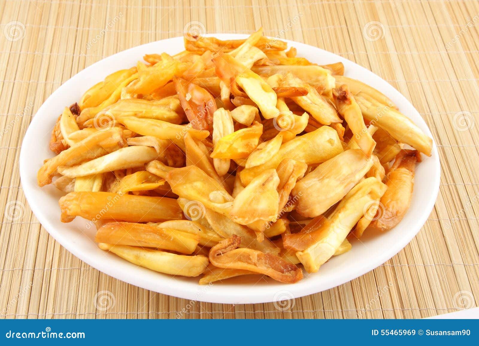 how to make jack fruit chips
