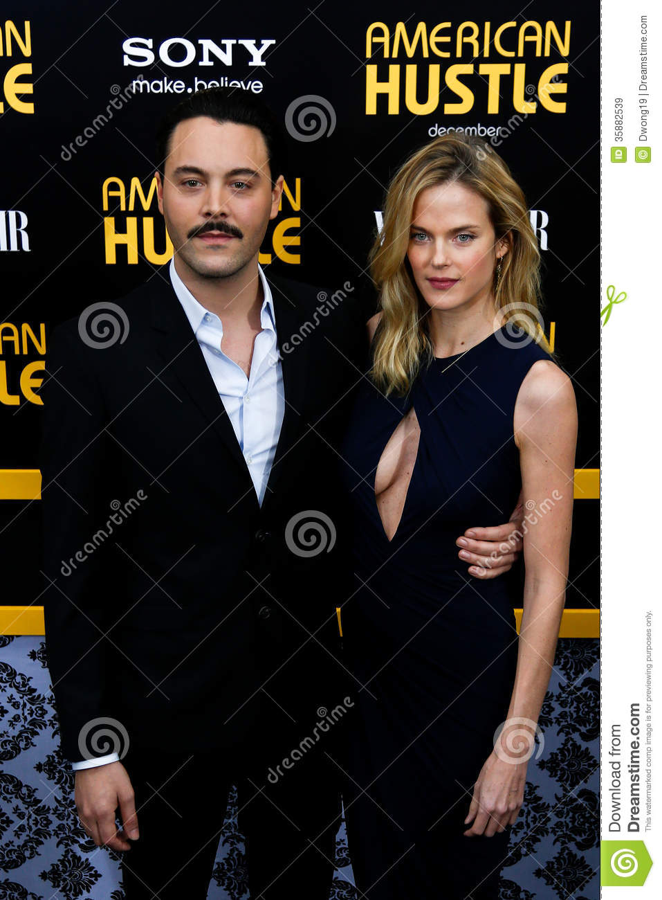 Jack Huston, Shannan Click Editorial Stock Image - Image ...