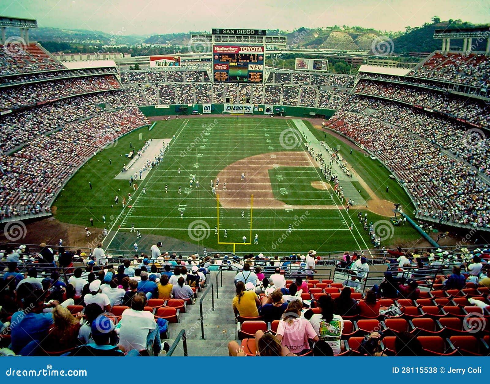 Jack Murphy Stadium San Diego Ca Editorial Stock Photo