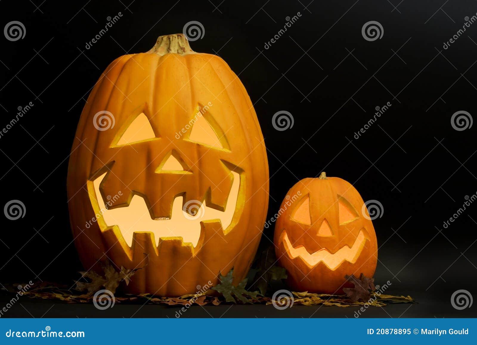 Jack-O-Lanternas de Halloween