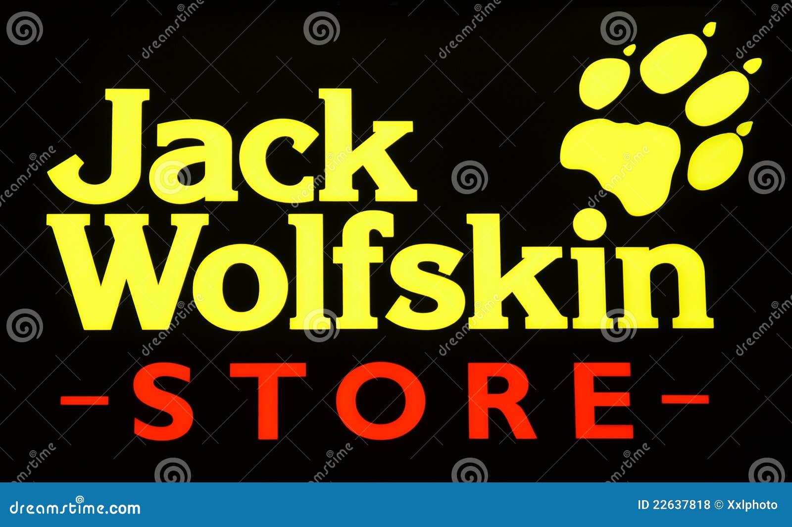 Jack Wolfskin redaktionelles stockfoto. Bild von produzent