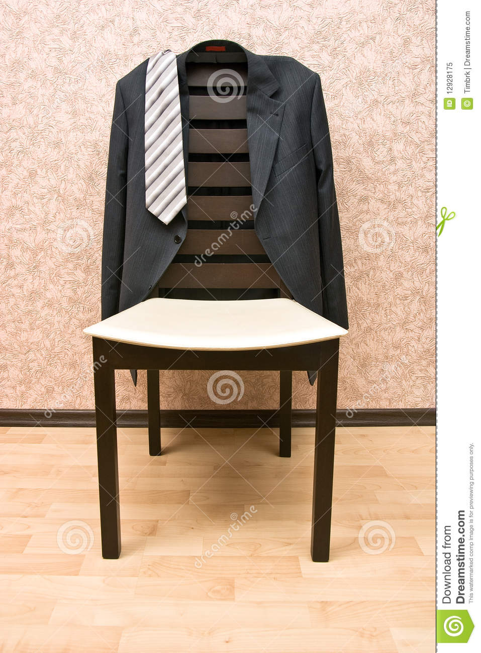 Jacket And Chair Royalty Free Stock Photo Image 12928175