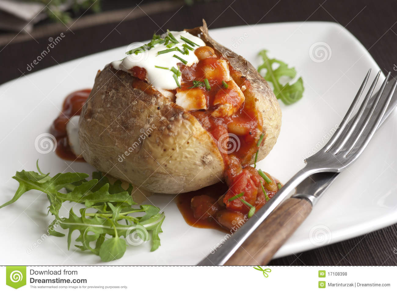 Jacket potato royalty free stock photos image 17108398 for Jacket potato fillings mushroom