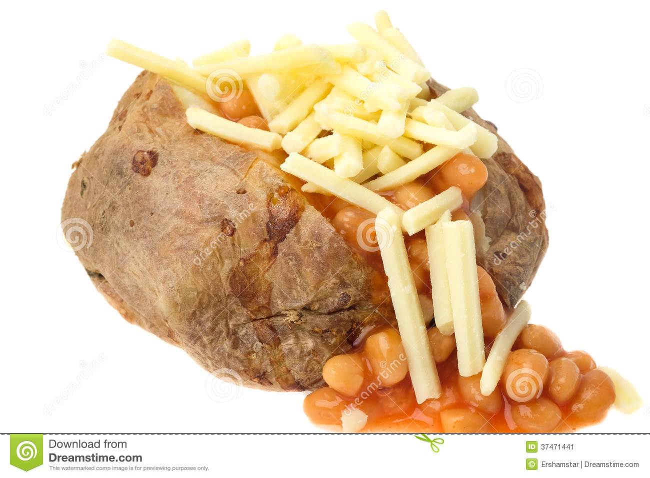 Jacket potato beans cake ideas and designs for Jacket potato fillings mushroom