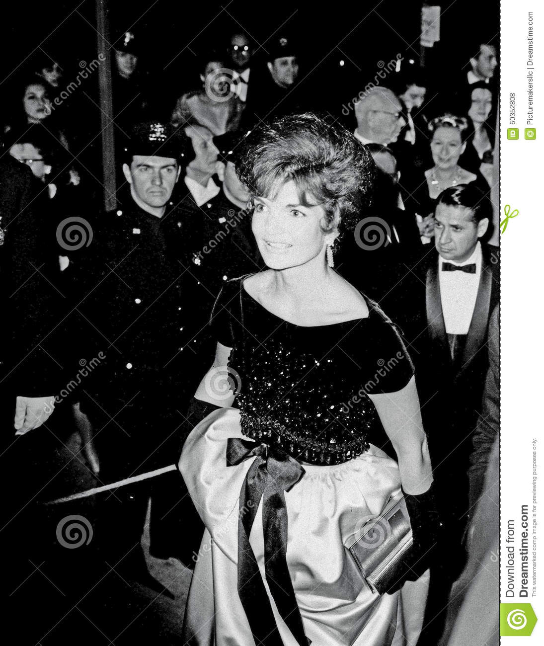 Jackie Kennedy At Lincoln Center NY