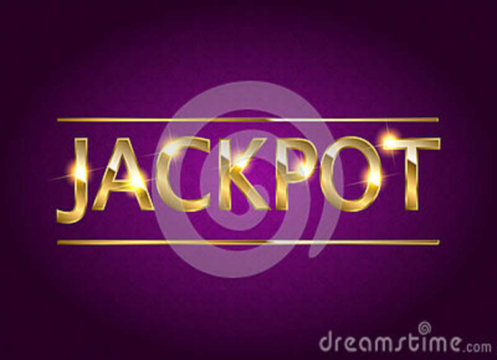Jackpot retro banner.