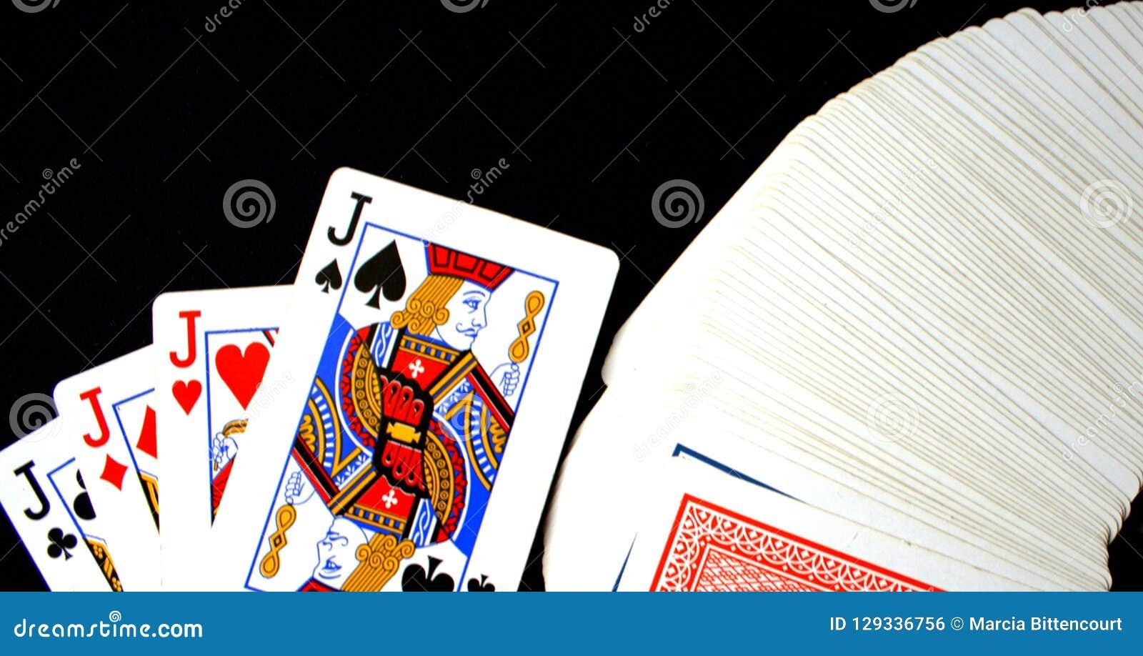Jacks играя карточек