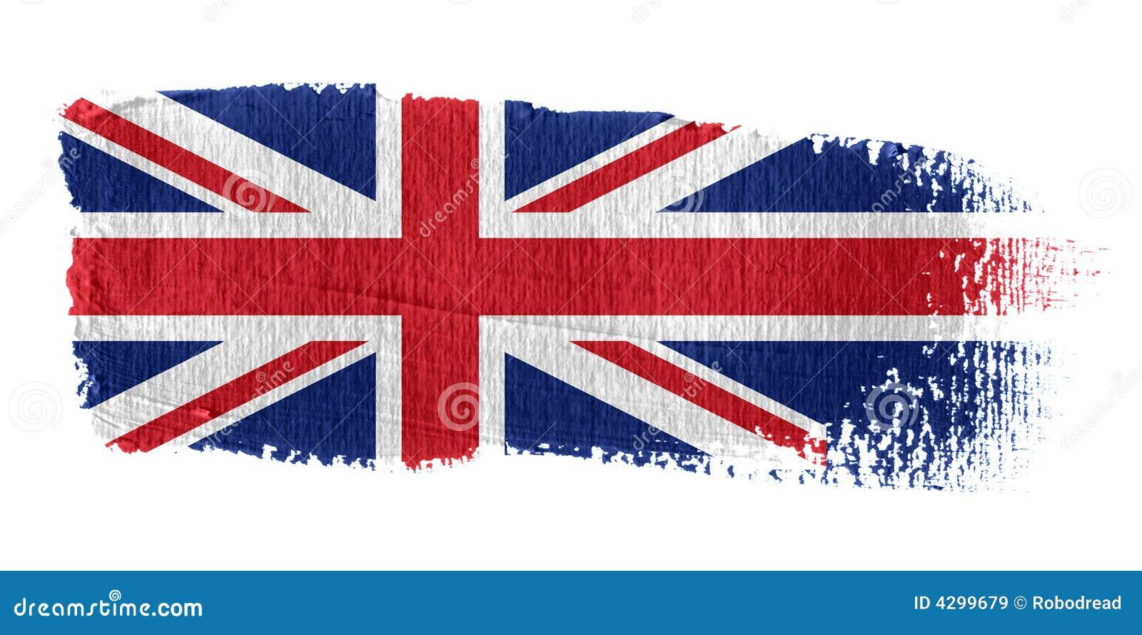 Jacks brushstroke europejska flaga