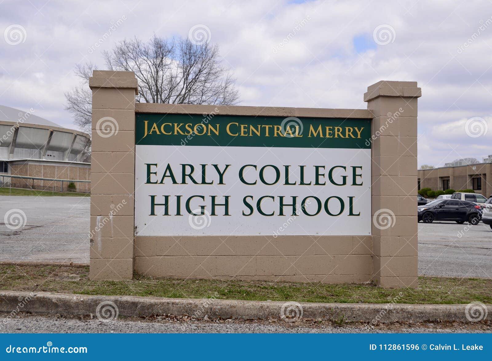 jackson central merry school jackson tennessee editorial photo