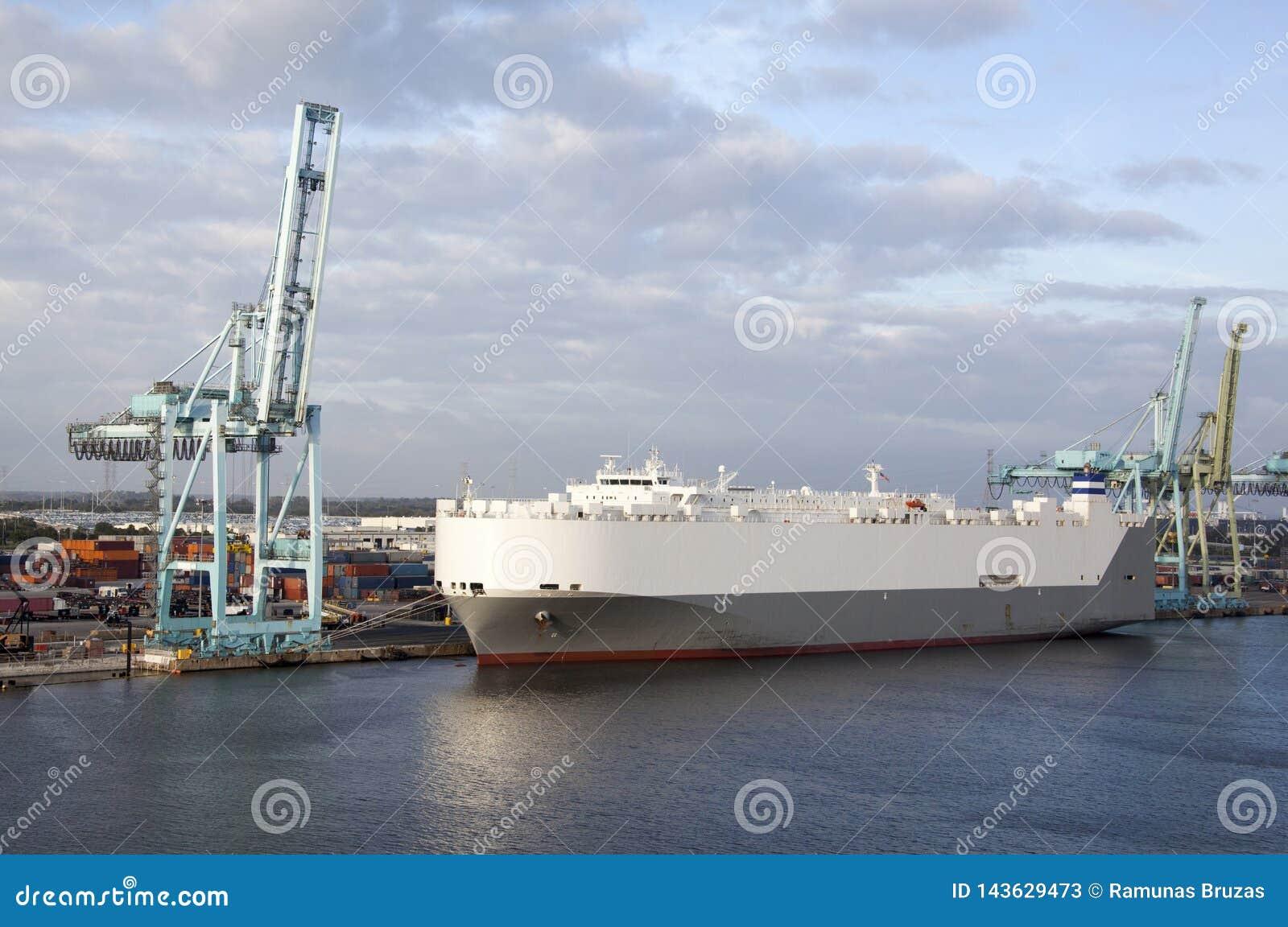 Jacksonville Port Tanker