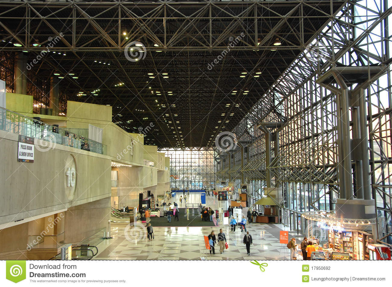 Jacob K Javits Convention Center In New York Editorial Stock - Nyc map javits center