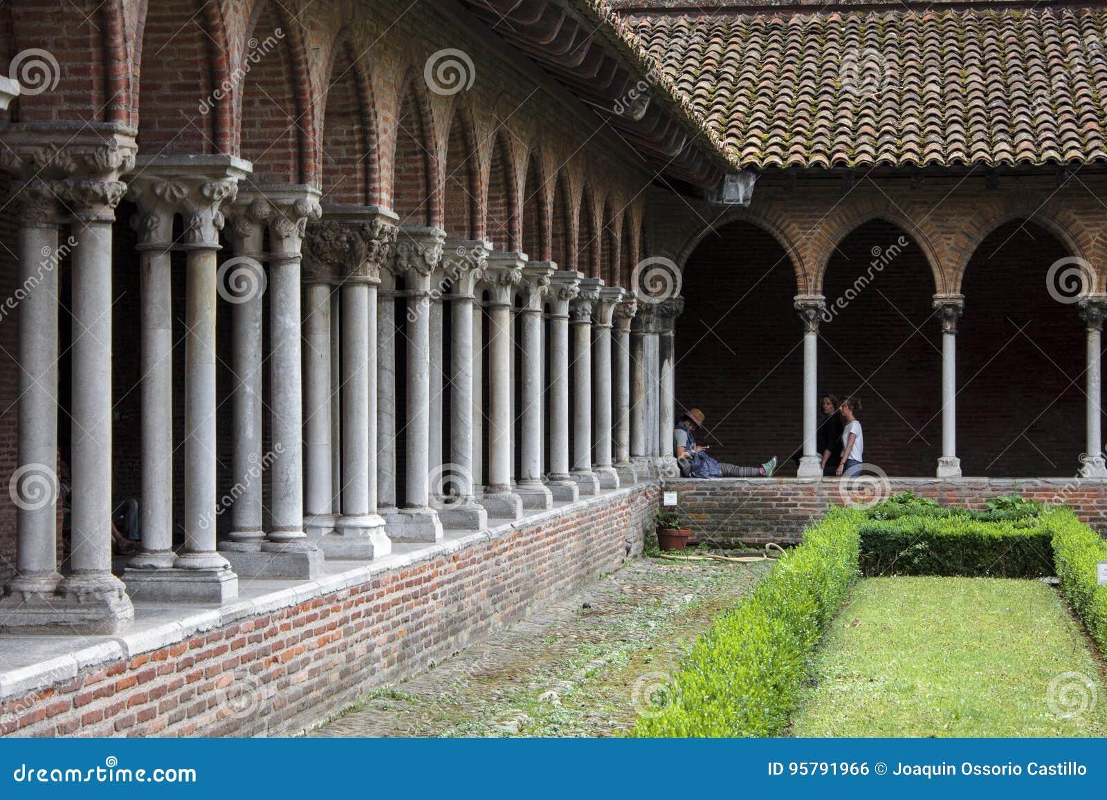 Jacobins的教会,图卢兹,法国