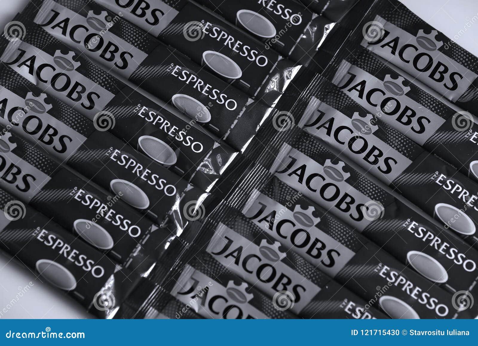 Jacobs espresso sticks