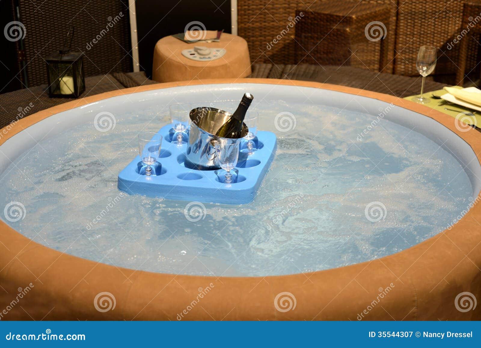 Jacuzzi Hot Tub Royalty Free Stock Photography Image