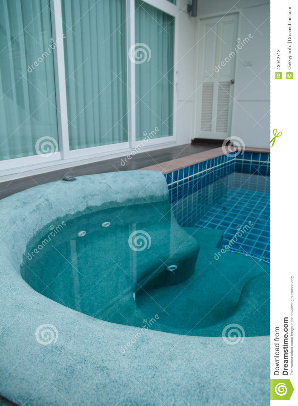 jacuzzi in the swimming pool stock photo image 43042713. Black Bedroom Furniture Sets. Home Design Ideas