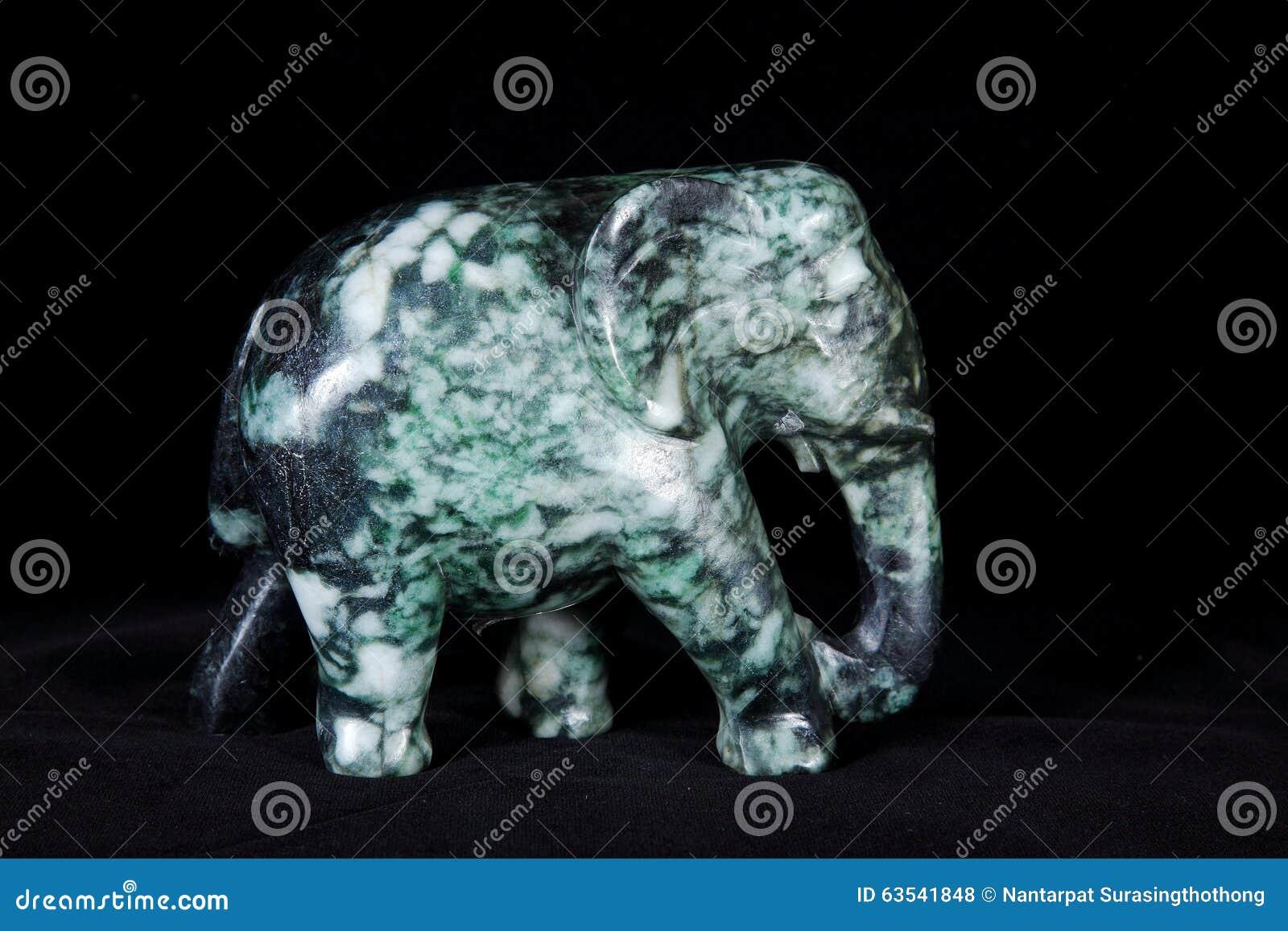 Asian marbled jade elephant good