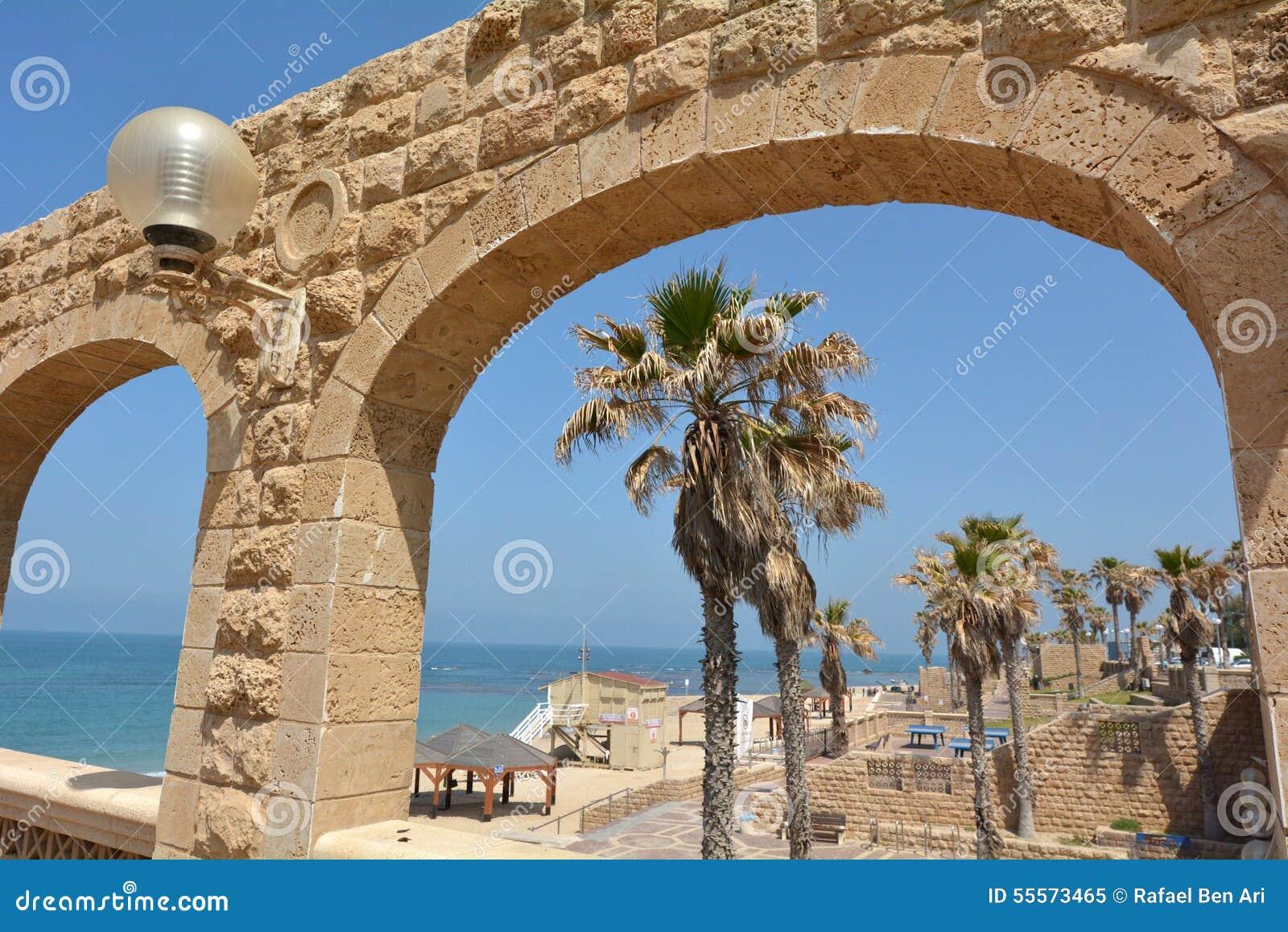 Jaffa beach in Tel Aviv Jaffa - Israel