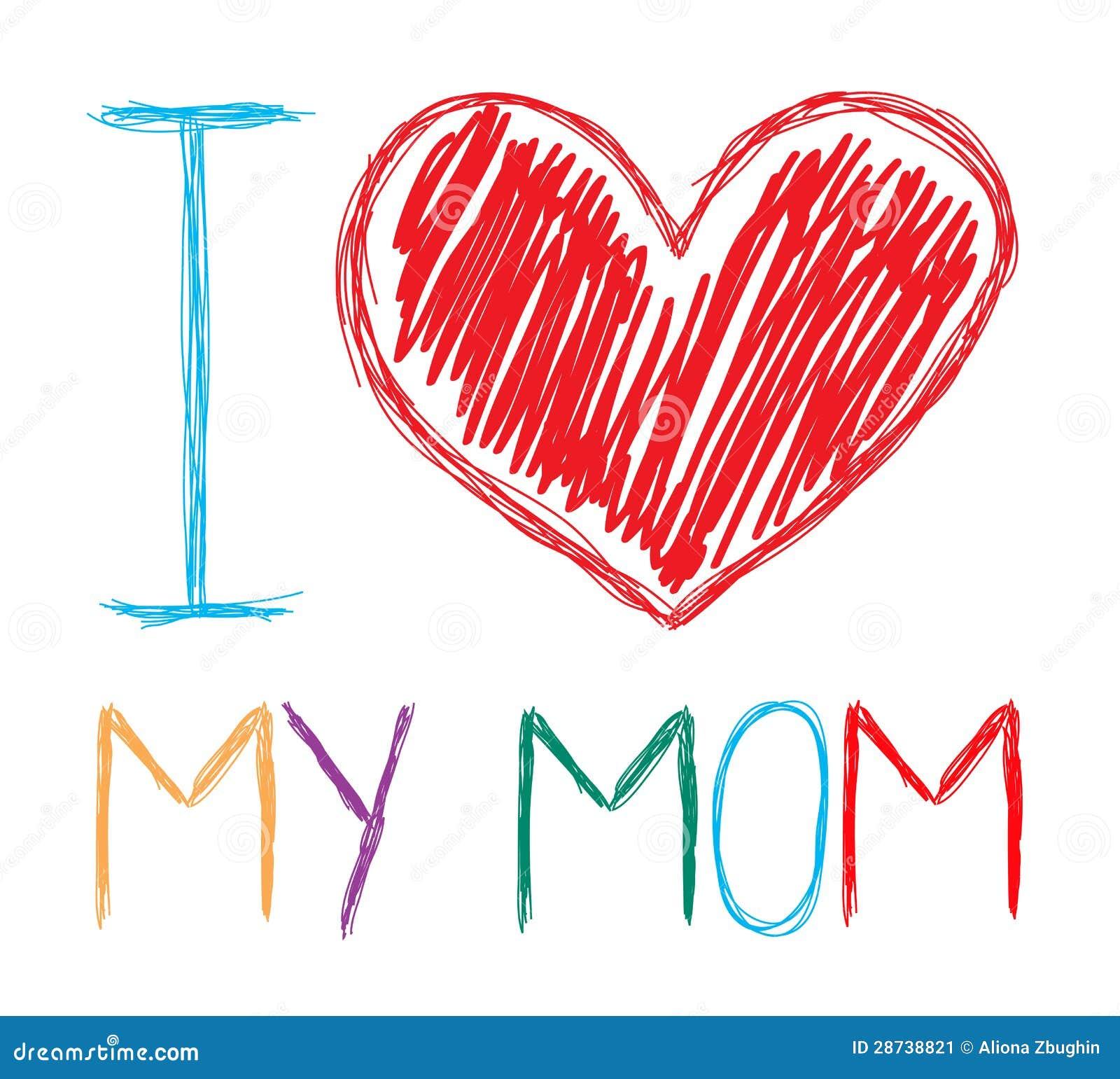 Jag älskar min mom