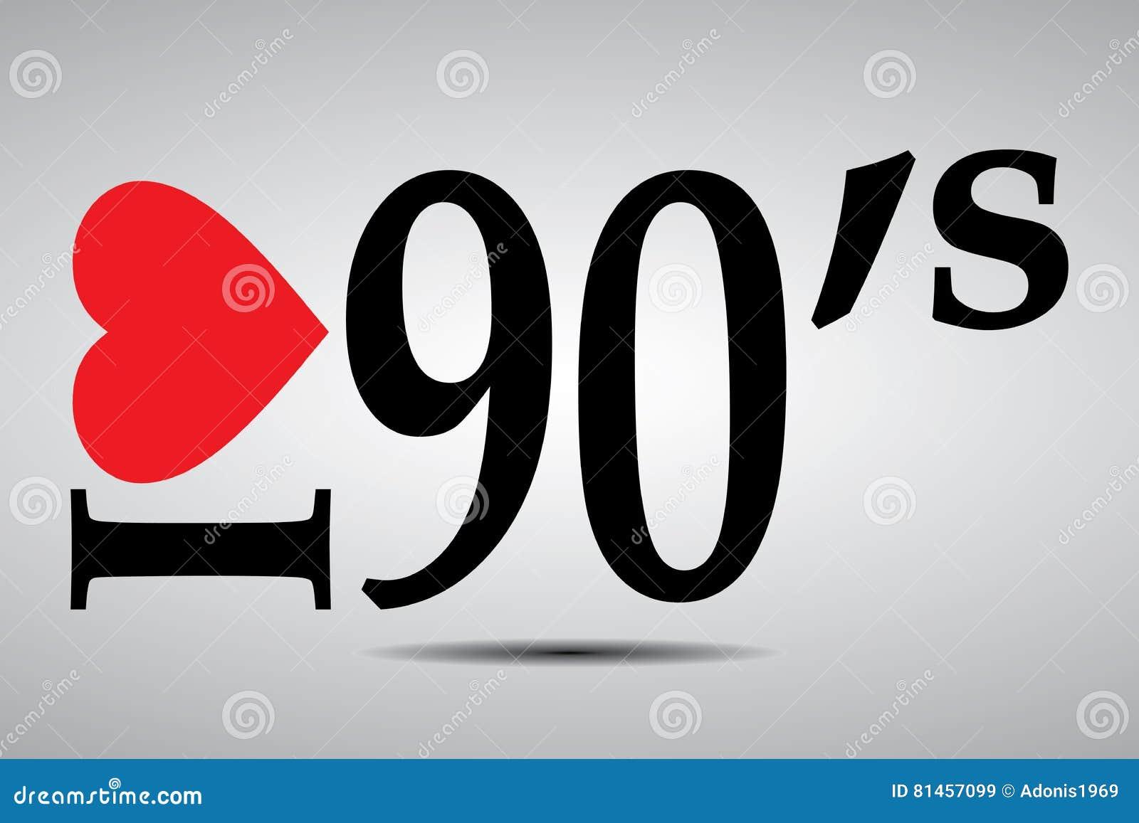 Jag älskar 90-tal