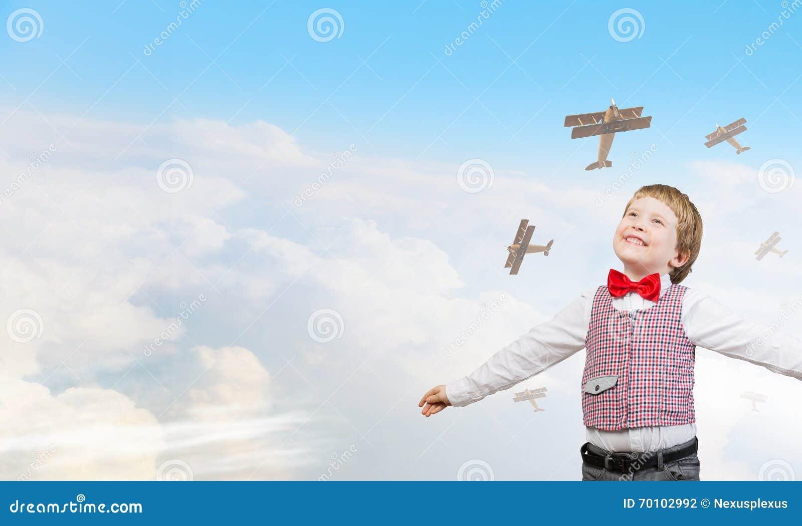 flyga i drömmar