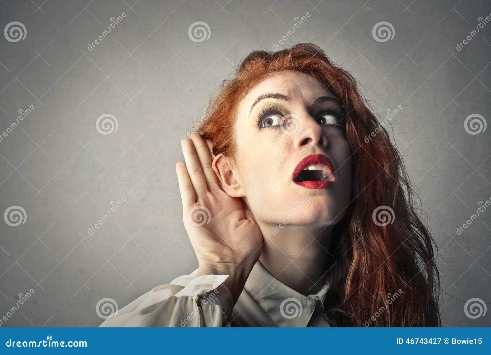 Jag kan inte höra dig!