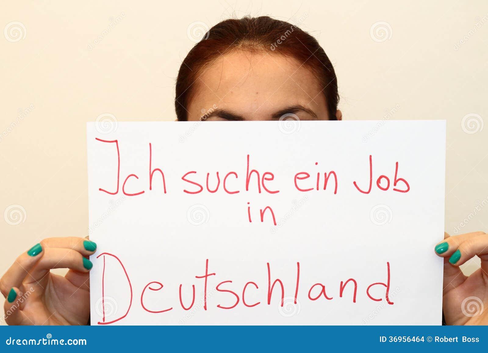 söka jobb i tyskland