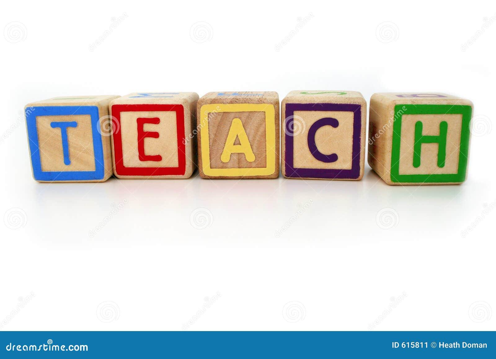 Jag undervisar