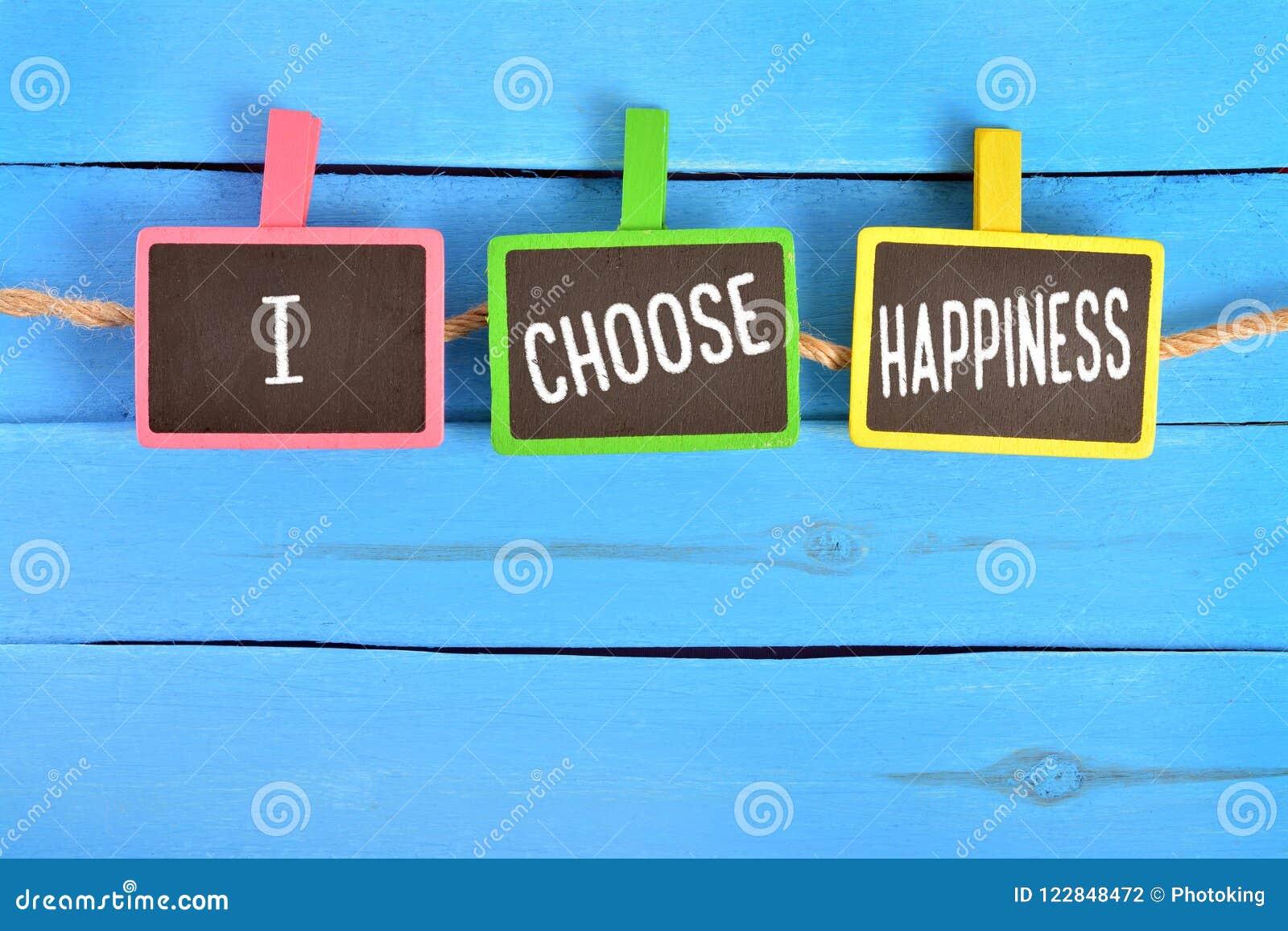 Jag väljer lycka ombord