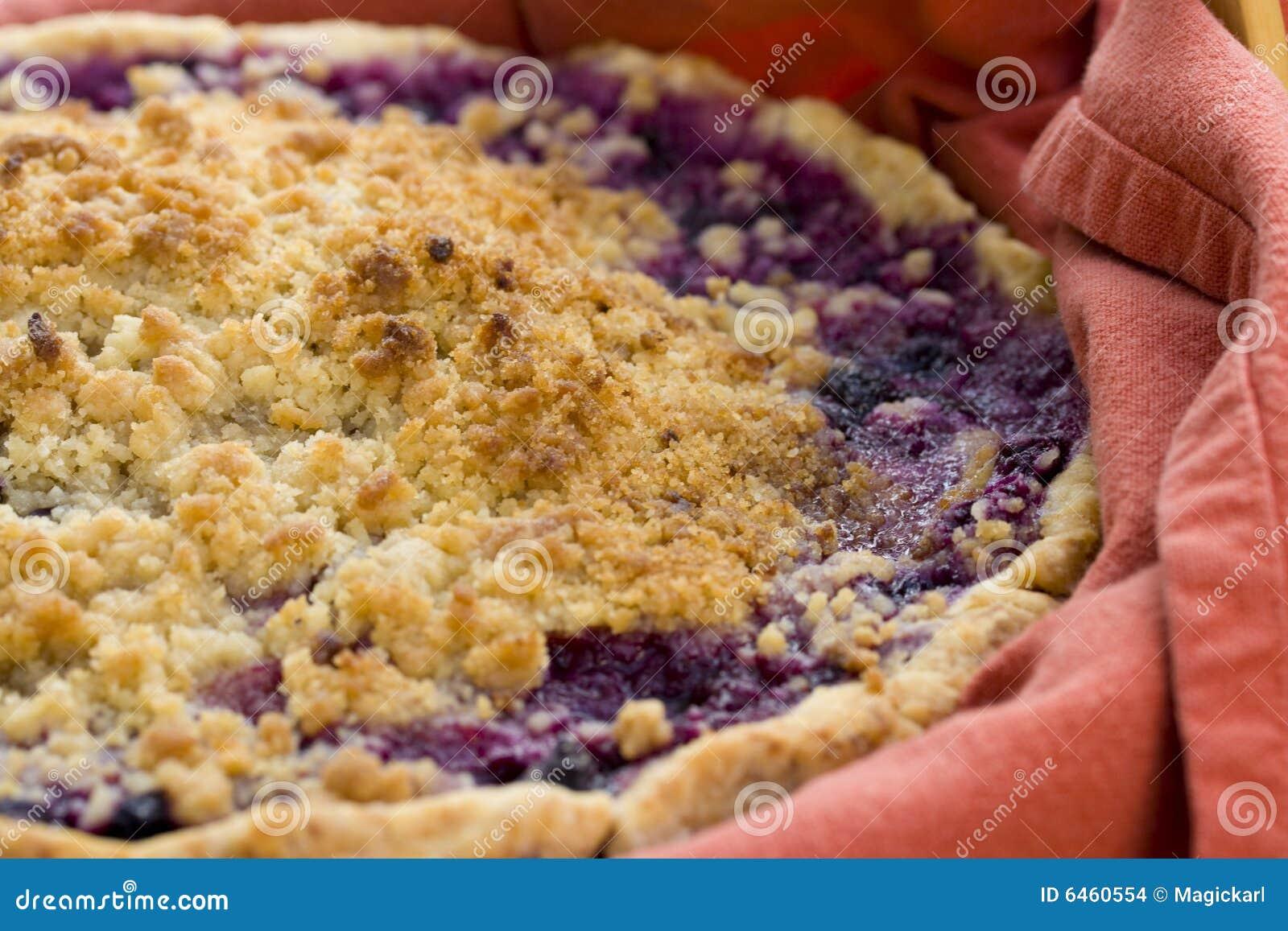 Jagodowe ciasto domowej roboty