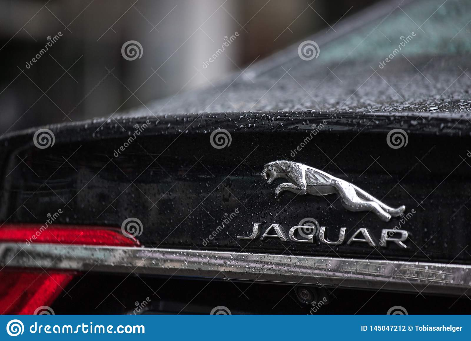 Jaguar-Auto in Berlin Deutschland