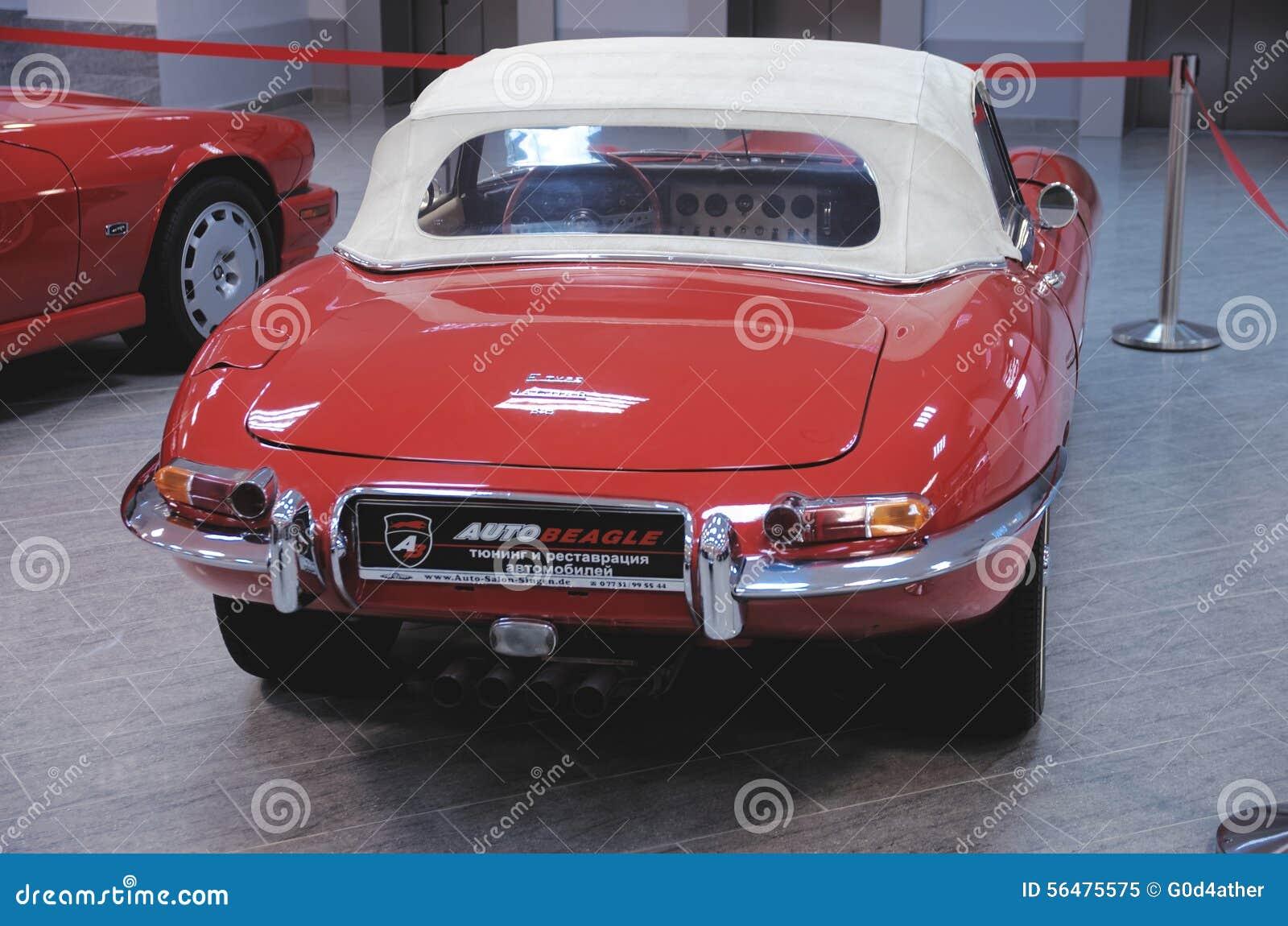 Jaguar de type e