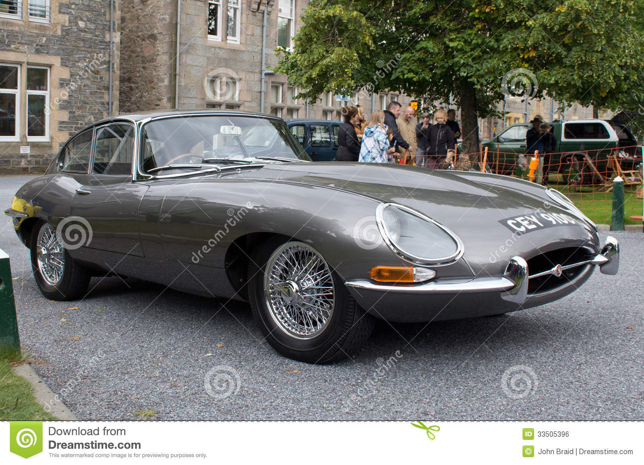 beautifully restored classic jaguar sports car mr no pr no 2 271 1