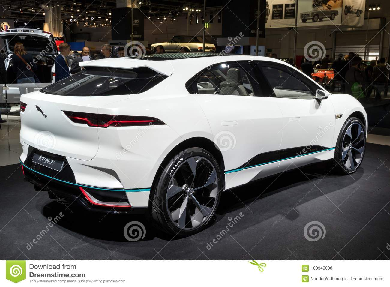 Jaguar I Pace Concept Electric SUV Car