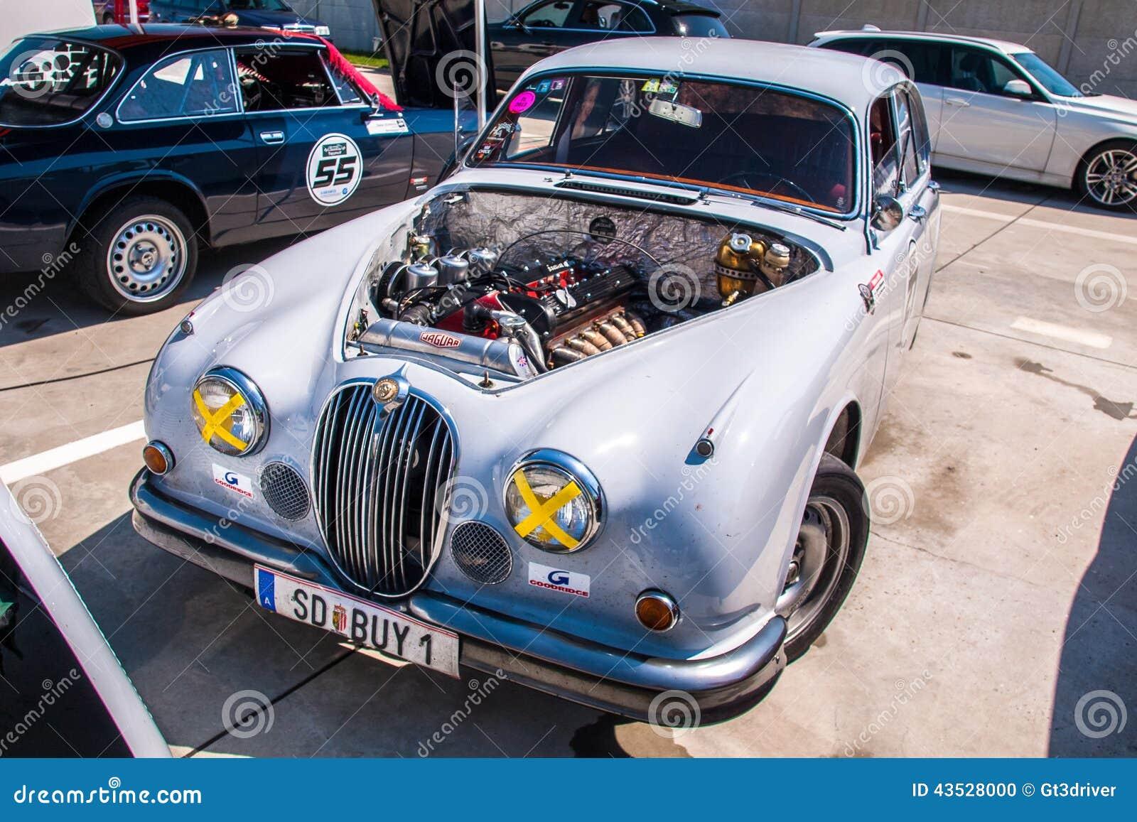 Jaguar Mkii Racing Car Editorial Image Image Of Audi 43528000