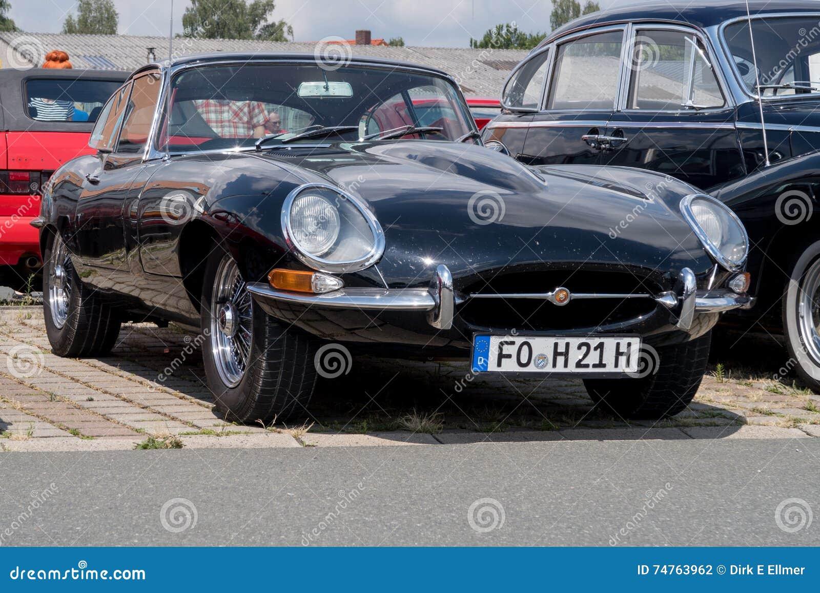 Jaguar At The Automobile Club Bayreuth Oldtimer Meeting 24072016 In Germany Northern Bavaria