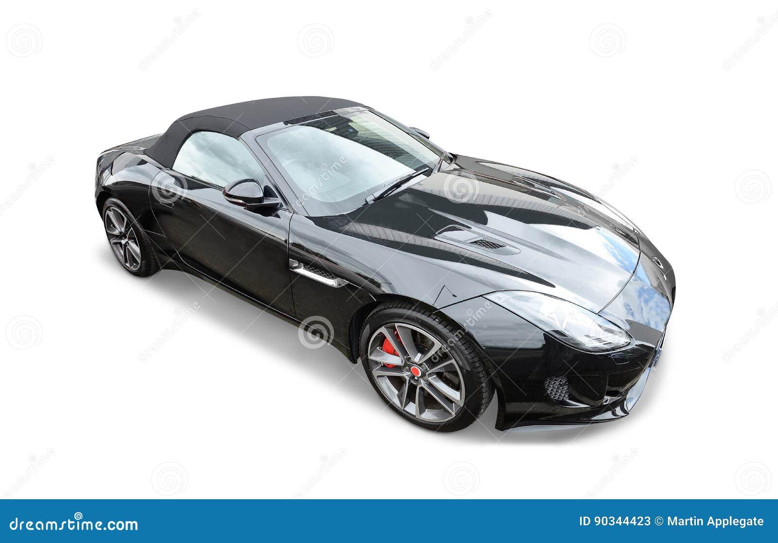 Jaguar Sports Car Stock Image Image Of Disc Touring 90344423