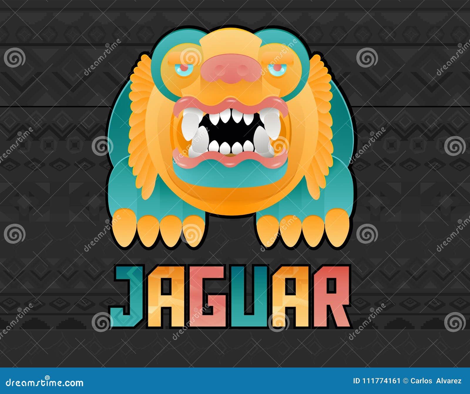 Jaguar Toon ilustracja