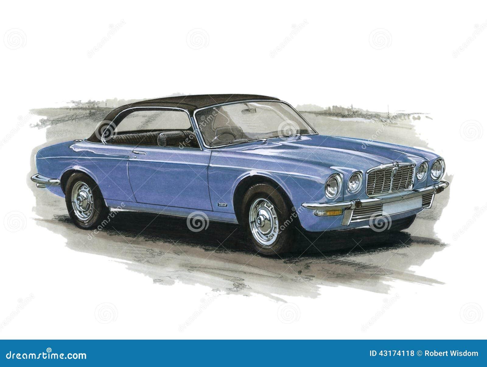 Jaguar Xj6 Coupe Editorial Stock Photo Image 43174118