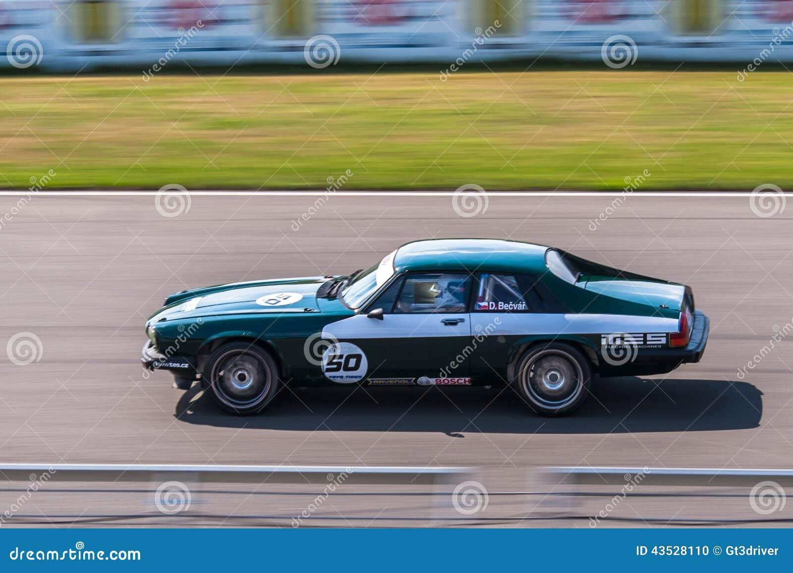 Jaguar XJS racing car editorial image. Image of giulia - 43528110