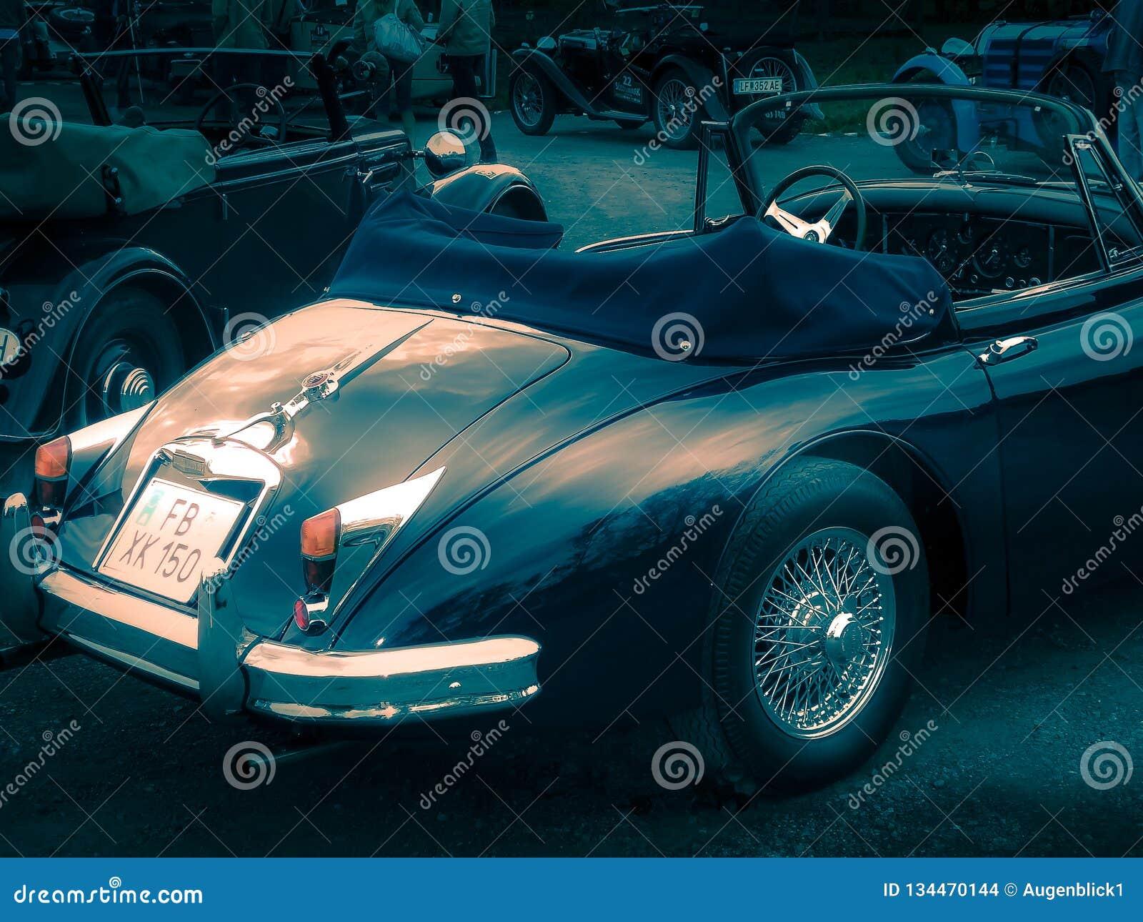 Jaguar XK 150, 1956