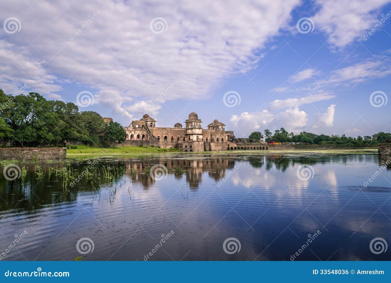 Jahaz Mahal Ship Palace At Mandu India