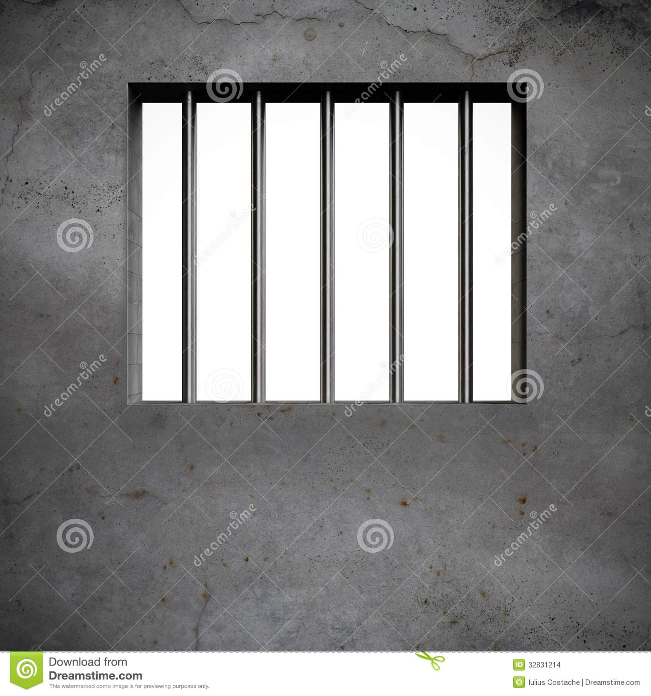 Jail Bars Stock Illustration Image Of Closed Metal