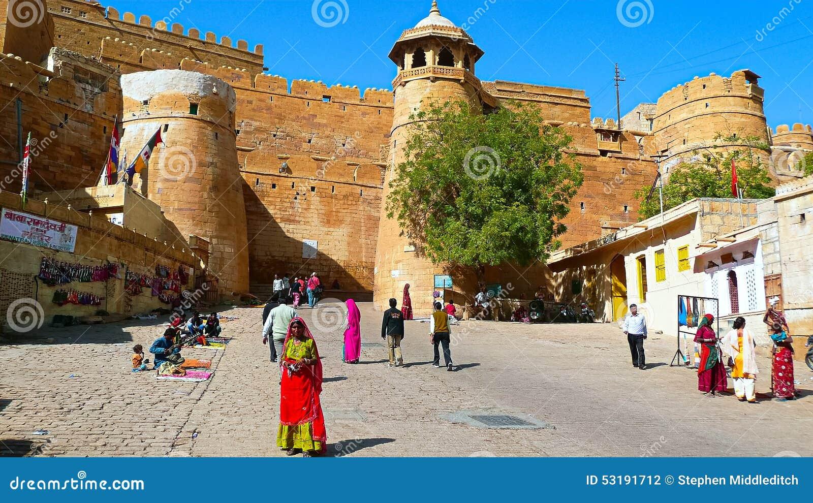 Jailsalmer-Fort, Rajastan, Indien
