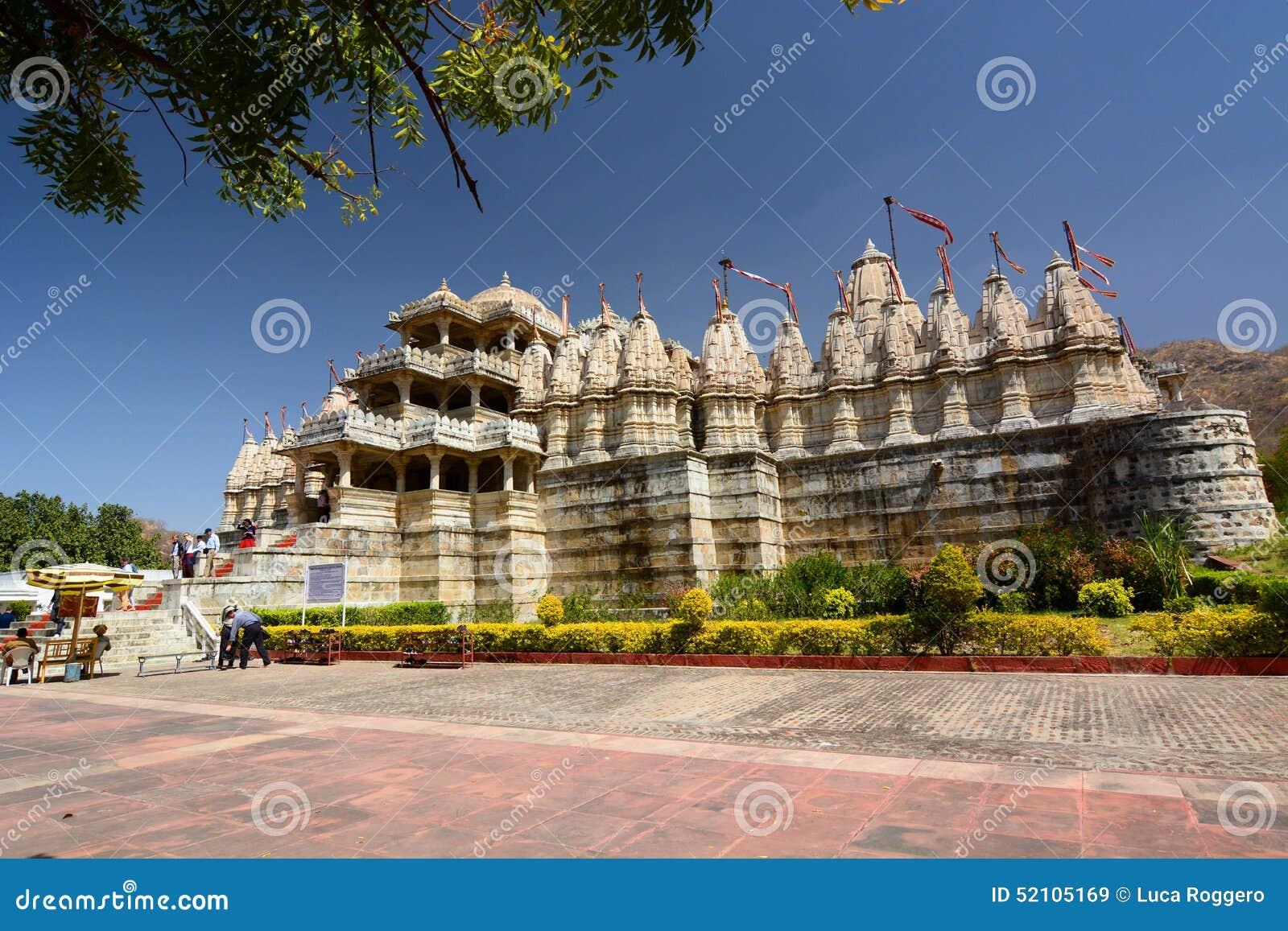 Jain висок Ranakpur Раджастхан Индия