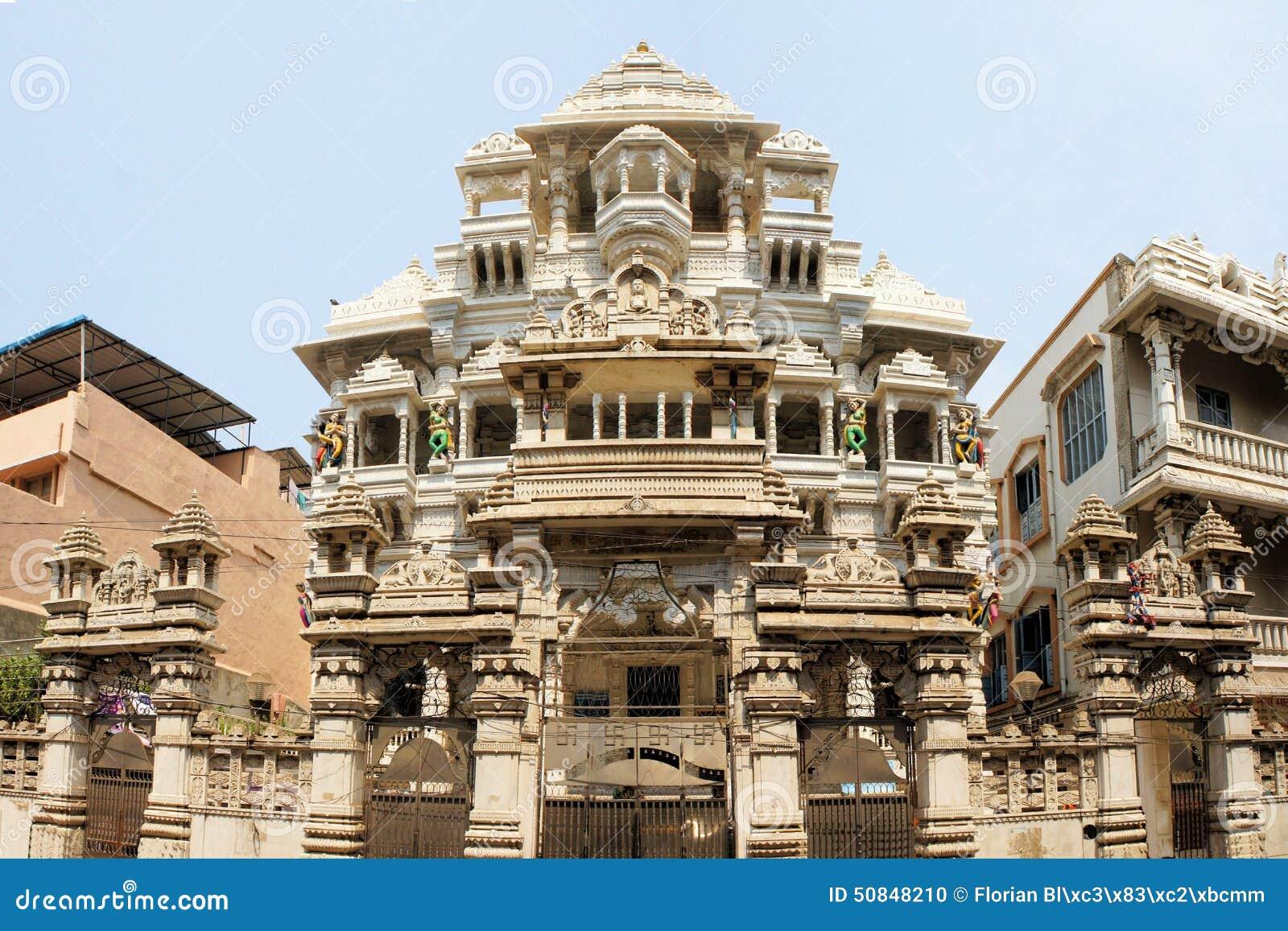 Jain tempel i Chennai, Indien