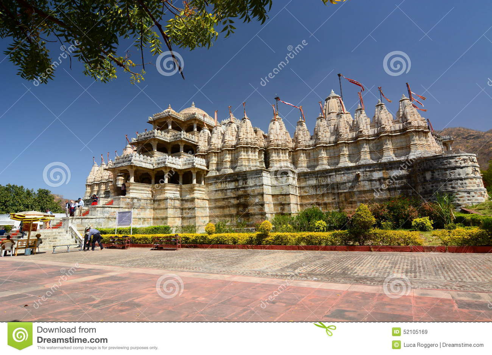 Jain tempel Ranakpur Rajasthan india