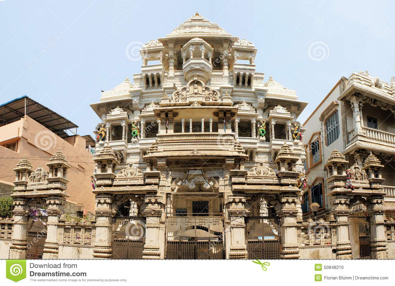 Jaintempel in Chennai, India