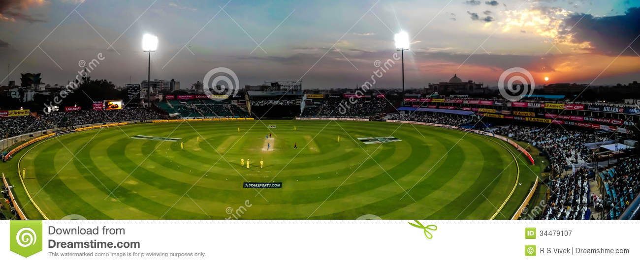 cricket ground wallpapers night