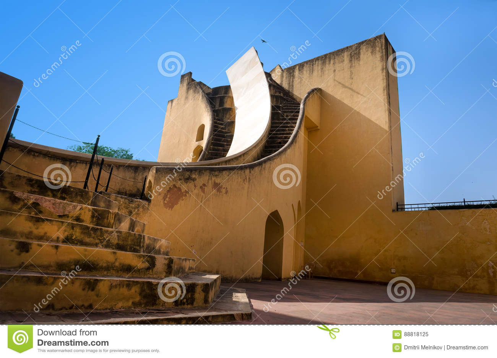 Jaipur, India, Jantar Mantar, obserwatorium